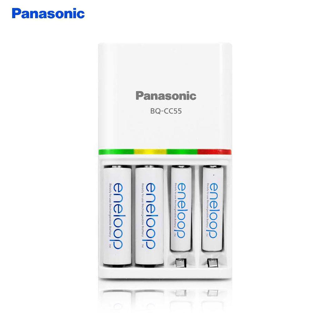 파나소닉 스마트 충전식 건전지 급속충전기 (BQ-CC55)