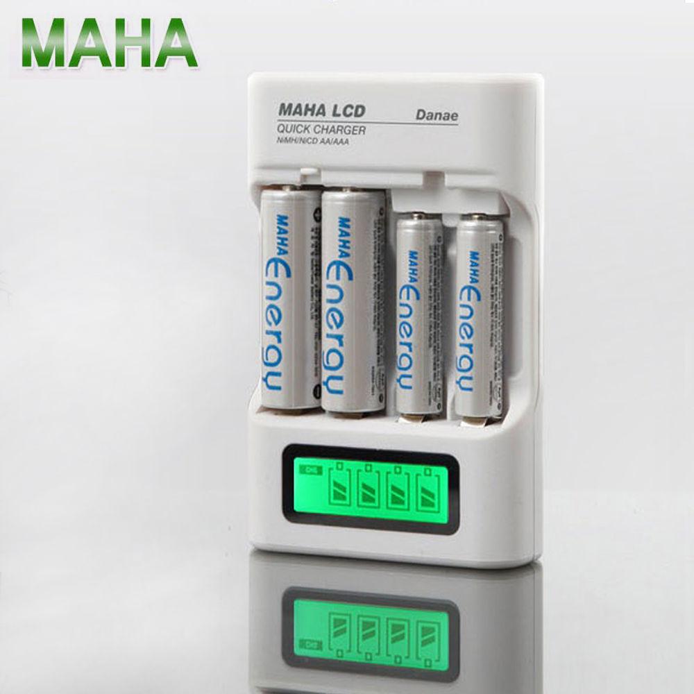 마하 LCD 뉴 디지털 충전식 건전지 급속충전기 (차량 가정 겸용)