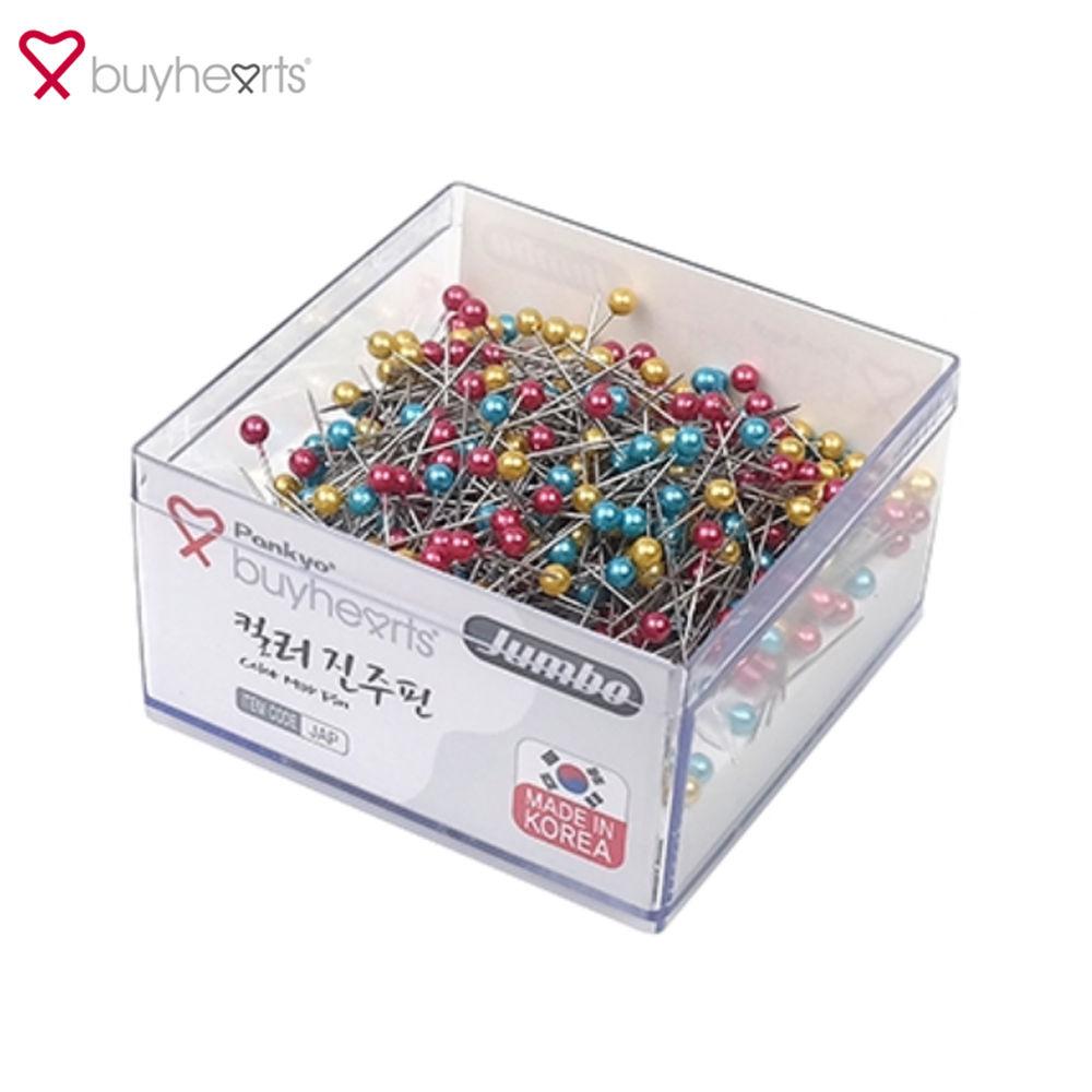바이하츠 7500 진주핀 (컬러) (점보) (JAP)