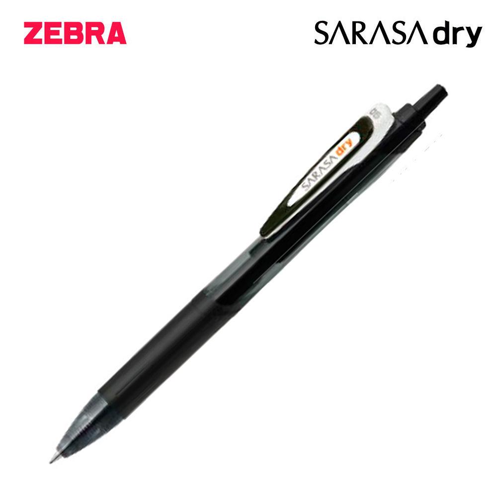 제브라 사라사 드라이 중성펜 0.5mm 1다스 (12개입) (블랙)