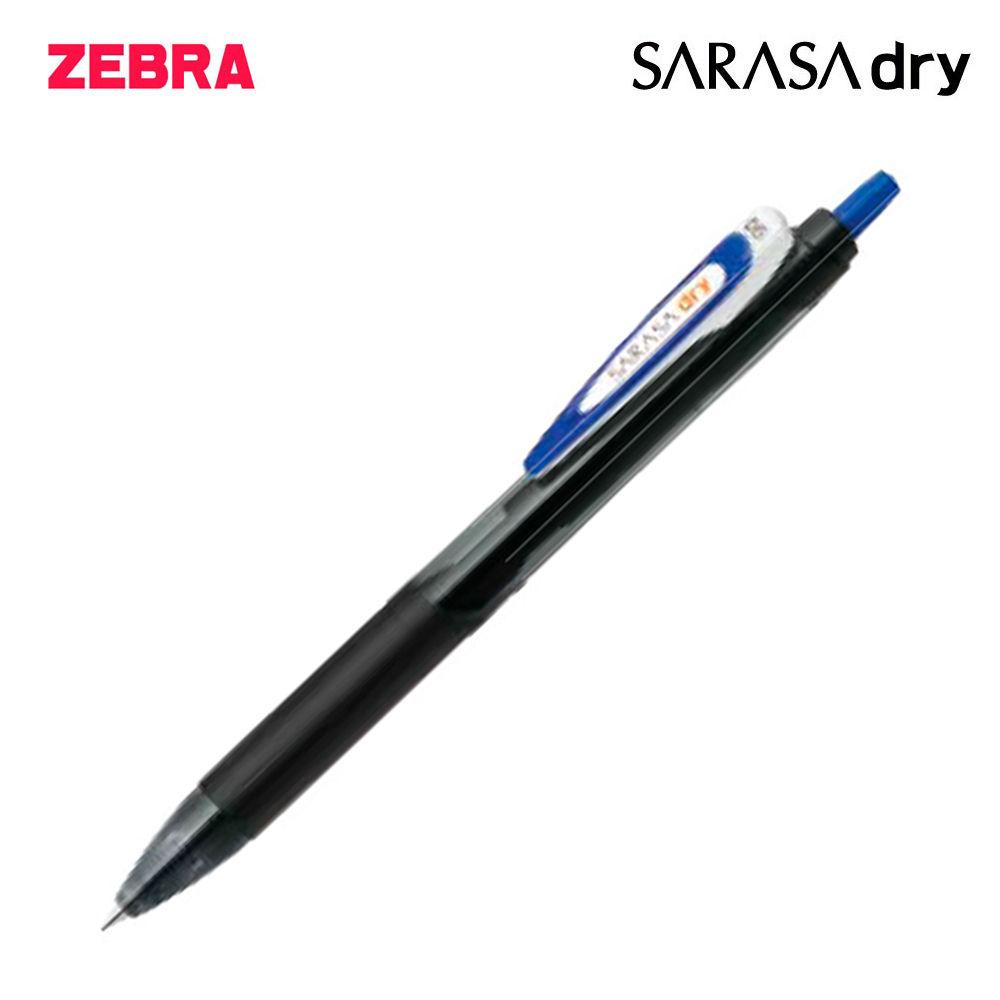 제브라 사라사 드라이 중성펜 0.5mm 1다스 (12개입) (블루)