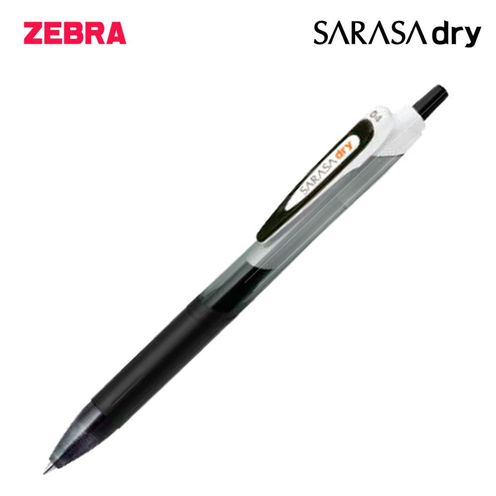제브라 사라사 드라이 중성펜 0.4mm 1다스 (12개입) (블랙)