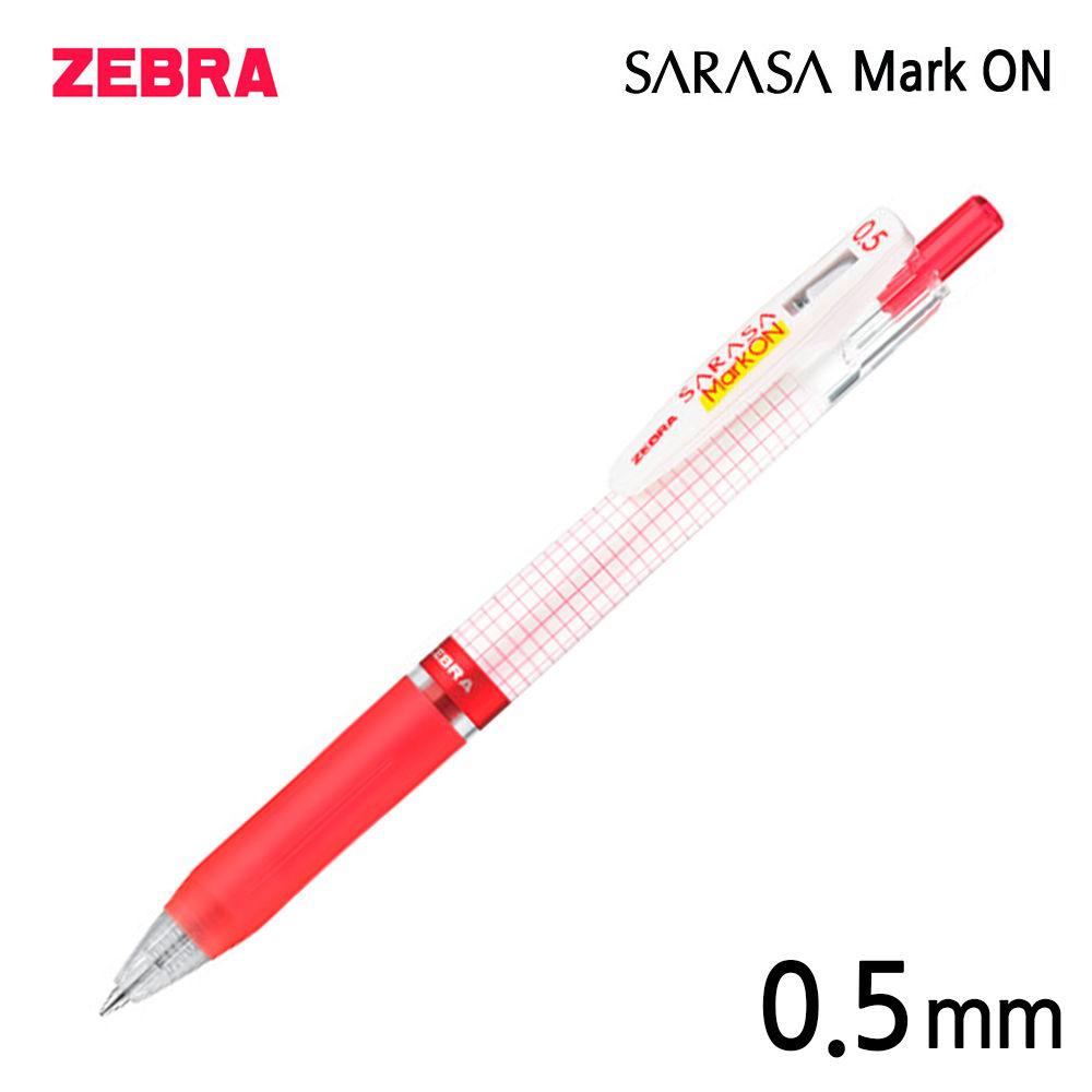 제브라 사라사 마크온 겔펜 JJ77 0.5mm 12자루 (레드)